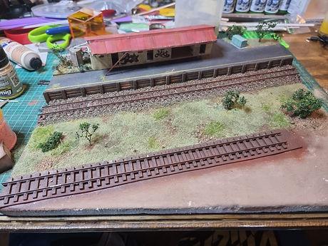 HO Scale diorama