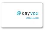 KEYVOXアプリを使ってICカードを管理画面に登録
