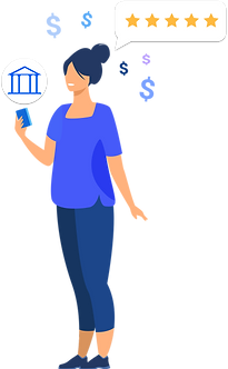 Lady with banking phone.png