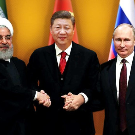 Beijing and Moscow eyes on Iran. Will Europe keep watching?
