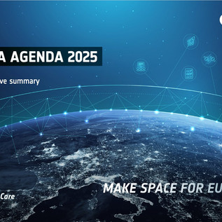 Agenda 2025 e la formalizzazione dei programmi spaziali europei