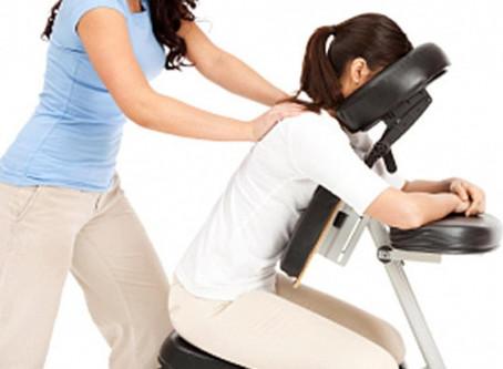 Le massage assis : L'essentiel en 2 mn