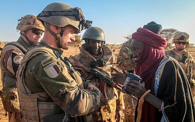 France Mali soldiers