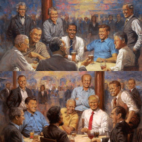 The evolution of the political spectrum in the United States: from the origins to the present day