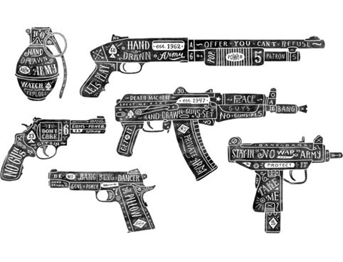 La fascinazione per le armi da fuoco nel terrorismo interno ed estero: l'AK 47 e la Walther P38.