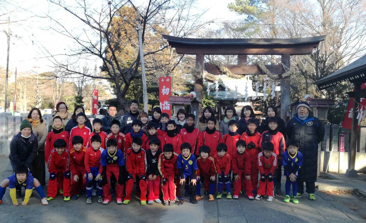 2018年 初蹴り熊野神社