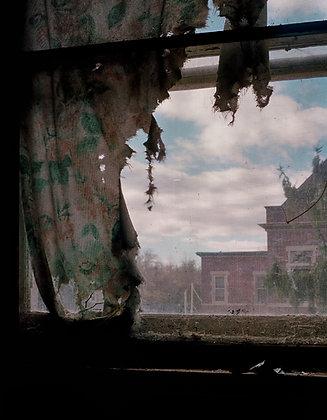 Pennhurst:  Window Treatment #4