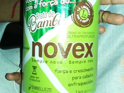 REVIEW: Novex Broto de Bambu