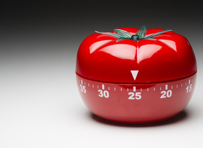 Escrita  .  Pomodoro:  A Técnica da Produtividade.