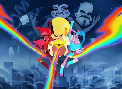 Animação: Super Drags!