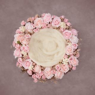 pink flower ring dutsy ring
