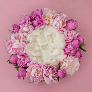 flower ring 4 hot pink
