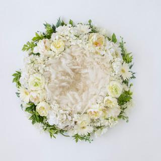 flower ring 3 white