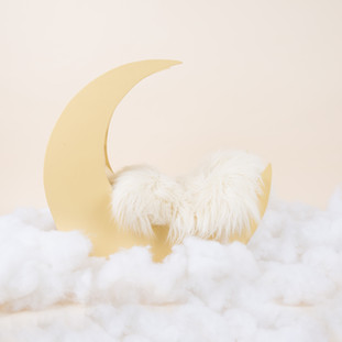 yellow moon baby clouds