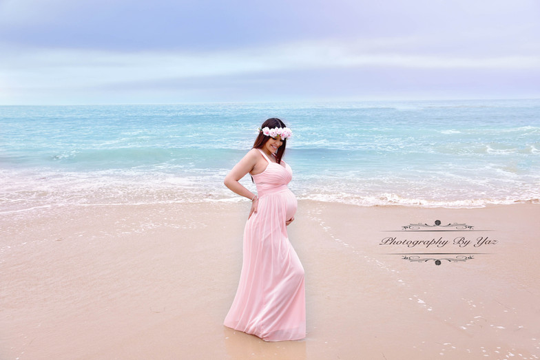 Orange county beach maternity pictures
