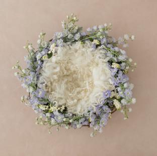 flower ring 2 ivory