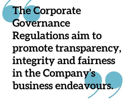 The Regulatory Framework on Corporate Governance in the UAE