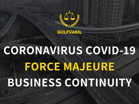 Force Majeure and the impacts of Coronavirus on Business Continuity