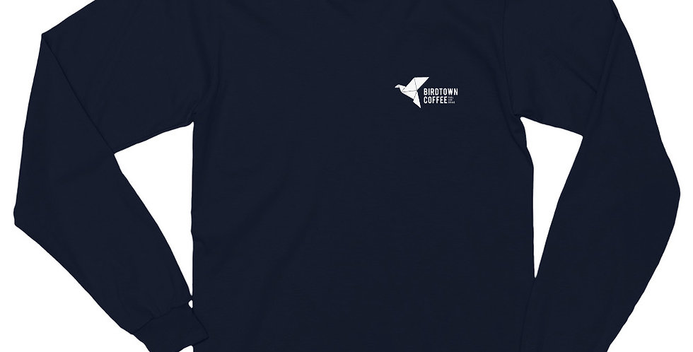 Long sleeve t-shirt - American Apparel - Navy