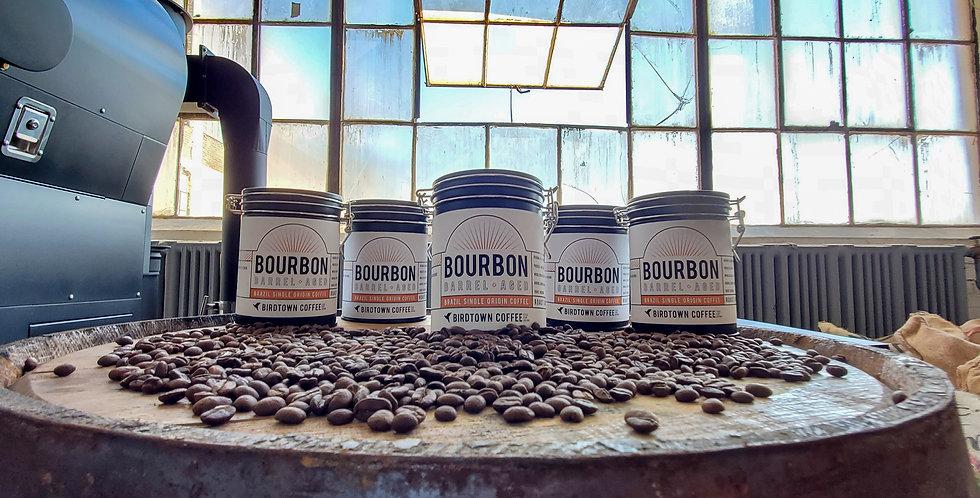 Bourbon Barrel Aged Coffee - 8 oz