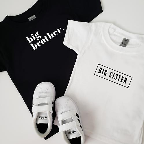 Sibling Kid Shirts