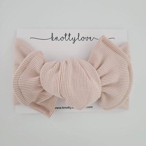 Blush Knotted Headband