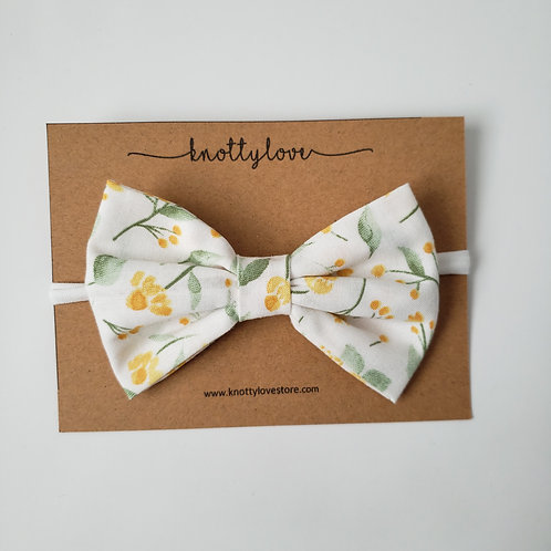Floral Spring Classic Bow