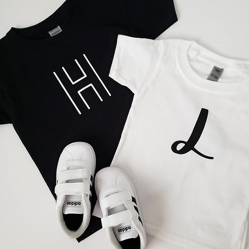 Letter Kid's Shirts