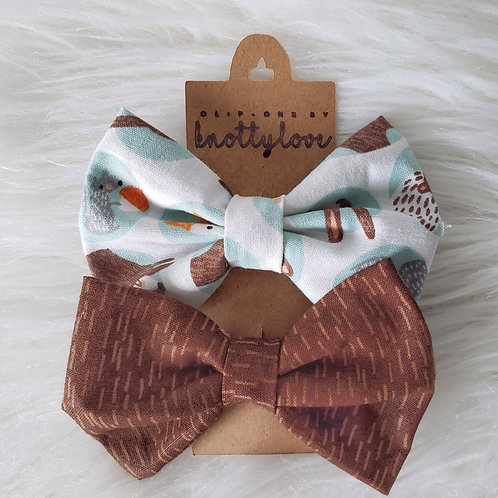 Into the Woodlands Bow Tie