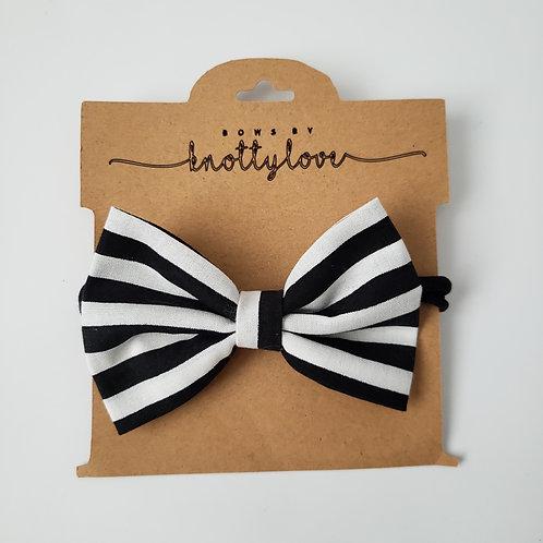 Black & White Classic Bow