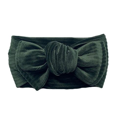 Evergreen Knotted Headband