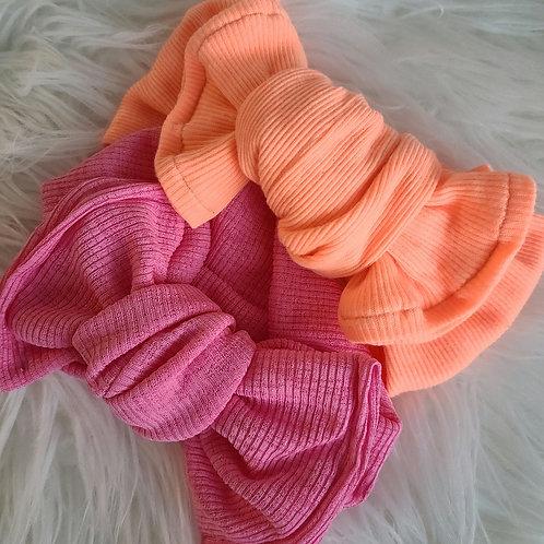 Neon Knotted Headband