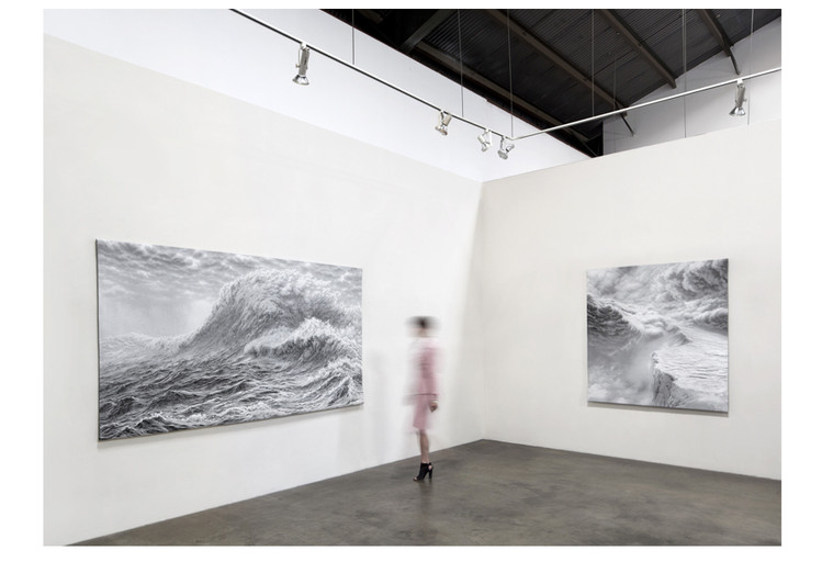 """Exhibition, """"Hilary Brace Tapestries and Drawings,"""" Craig Krull Gallery, Santa Monican CA, 2018"""
