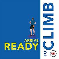 Please arrive ready to climb
