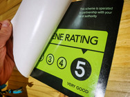 Food Standards Agency gave us an awesome 5-stars!