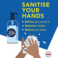 Sanitise your hands regularly