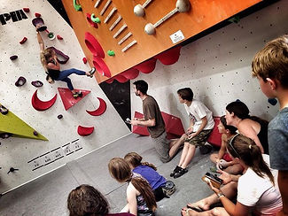 Our Semi-Finalists are crushing! Such a strong effort from all our young climbers in hot c