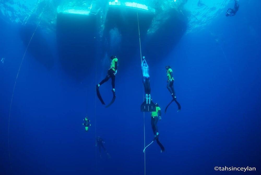 Всплытие с 96 м