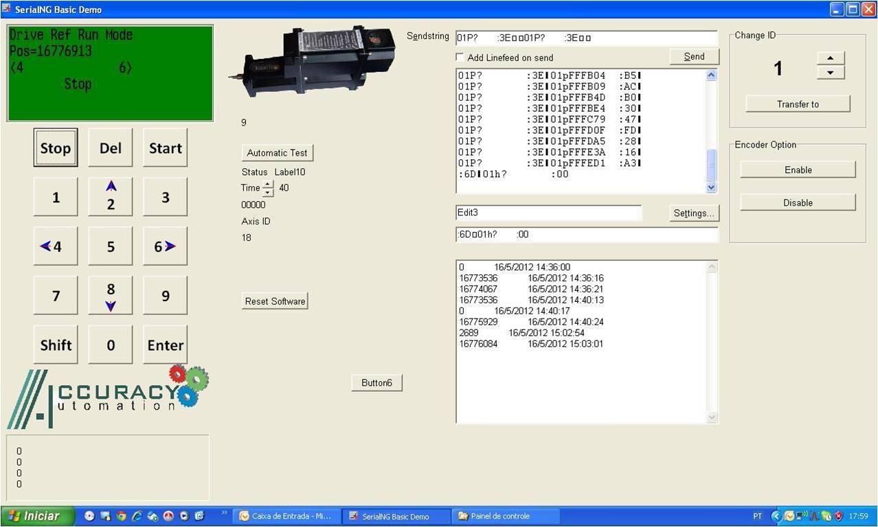 Software de teste Individual