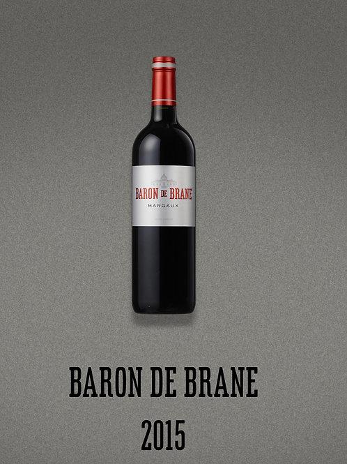 BARON DE BRANE - MARGAUX - 2015