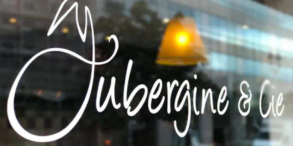 After-work dégustation chez Aubergine & Cie le 10-11-2020