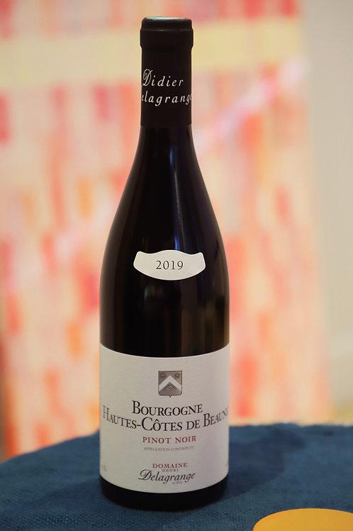 BOURGOGNE Hautes-Côtes de Beaune - Pinot Noir - 2019