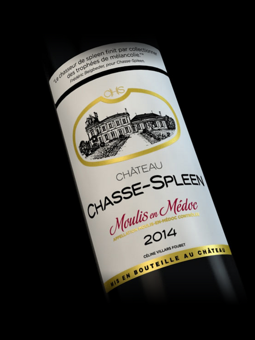 Château CHASSE-SPEEN - MOULIS - 2014