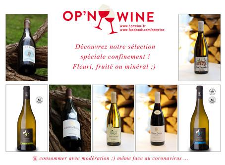 Opnwine lance sa sélection spéciale confinement ! ;)