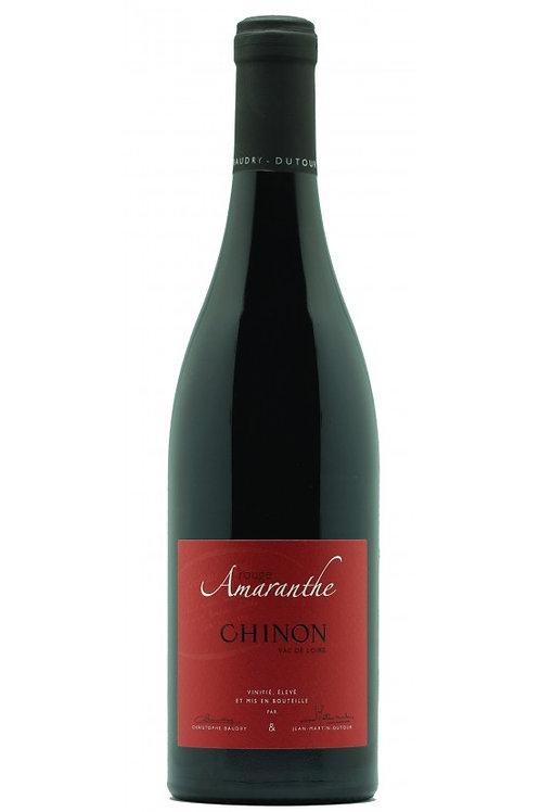 CHINON Amaranthe rouge Baudry-Dutour