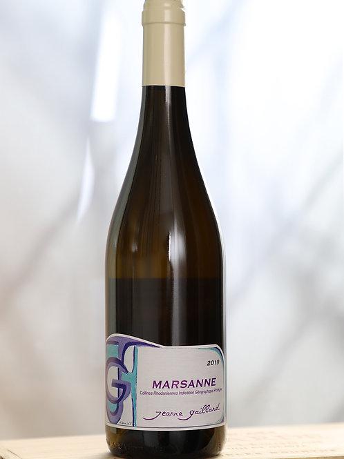 IGP Collines Rhodaniennes blanc MARSANNE 2019 - Domaine Pierre Gaillard