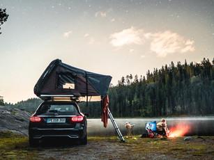 Norwegen   'Wildcampen' mit Dachzelt