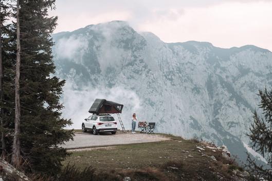 Camping auf dem Loser