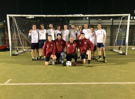 FA visit Falcons ahead of Rainbow Laces launch