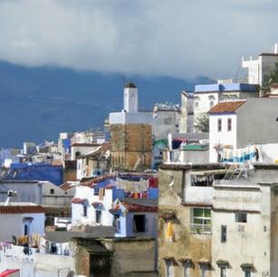 Chefchaouen, Morocco. Escape into the blue